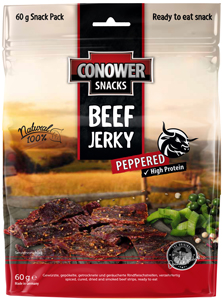 Conower Beef Jerky Peppered