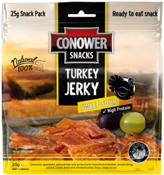 Conower Turkey Jerky Suess-Sauer
