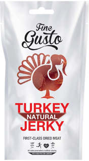 Fine Gusto Turkey Jerky Natural