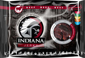 Indiana Beef Jerky Hot Sweet 100g