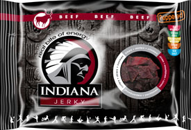 Indiana Beef Jerky Peppered 100g