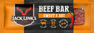Jack Links Beef Bar Sweet&Hot