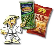 Kroepoek & Wasabi Peas