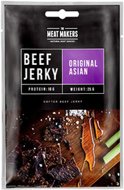 Meat Makers Beef Jerky Original Asian