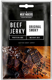 Meat Makers Beef Jerky Original Smoky