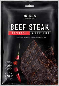 Meat Makers Beef Steak Peppered