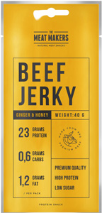 Meat Makers Beef Jerky Ginger Honey