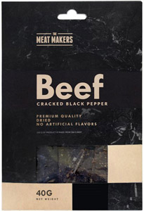 Meat Makers Gourmet Jerky Cracked Black Pepper
