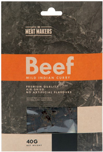 Meat Makers Gourmet Jerky Mild-Indian-Curry
