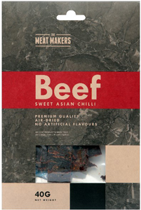 Meat Makers Gourmet Jerky Sweet Asian Chilli