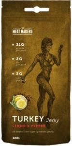 Meat Makers Turkey Jerky Lemon Pepper