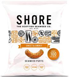 SHØRE - Seaweed Puffs Sweet & Smoky