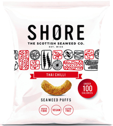 SHØRE - Seaweed Puffs Thai Chilli