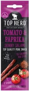 Top Herd Salami Tomato Paprika