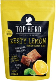 Top Herd Zesty Lemon Jerky