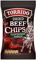 Torrido Beef Chips 25g