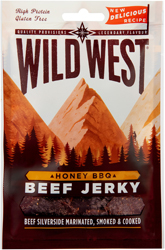 Wild West Beef Jerky Honey BBQ 70g