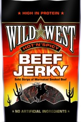 Wild West Beef Jerky Hot-Spicy