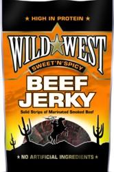 Wild West Beef Jerky Sweet-Spicy