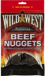Wild West Beef Nuggets Peppered